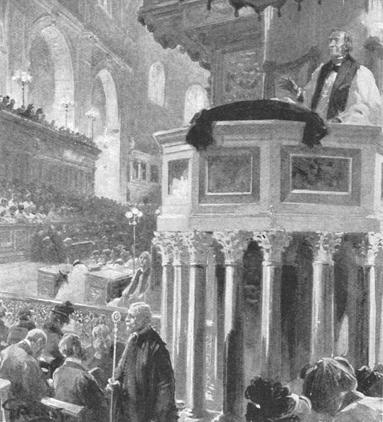 Preacher「Archbishop Of Canterbury PreachingAfter Queen Victorias Death」:写真・画像(10)[壁紙.com]