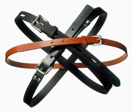 Belt「belts cut out on white」:スマホ壁紙(8)