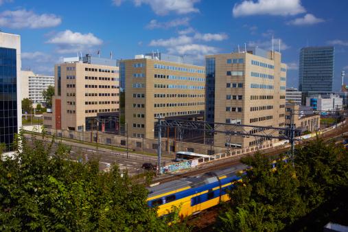 North Brabant「Elevated skyline of Eindhoven」:スマホ壁紙(1)