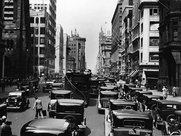 1930-1939「Midtown Manhattan Street Scene」:写真・画像(17)[壁紙.com]
