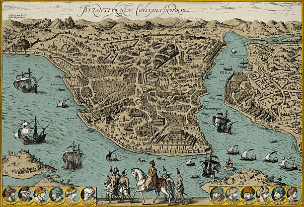 Map of Constantinople:ニュース(壁紙.com)
