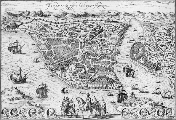 Middle East「Map of Constantinople」:写真・画像(0)[壁紙.com]