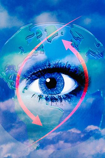 Eyesight「Eye in the Clouds」:スマホ壁紙(4)
