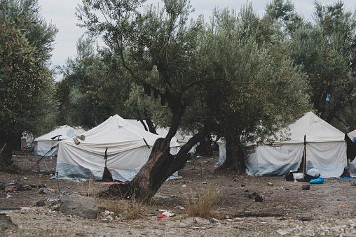 Refugee「Refugee camp on Lesbos, Greece」:スマホ壁紙(12)