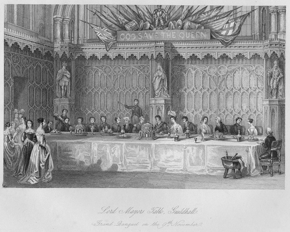 November「Lord Mayors Table, Guildhall. Grand Banquet on the 9th November」:写真・画像(17)[壁紙.com]
