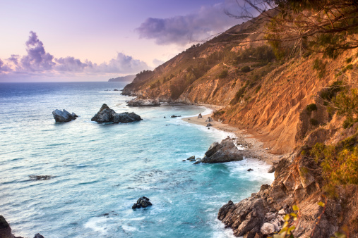 Julia Pfeiffer Burns State Park「McWay Falls, Julia Pfeiffer State park, Big Sur, California, USA」:スマホ壁紙(11)