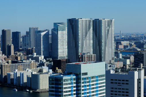 東京都中央区「Harumi Skyscraper」:スマホ壁紙(17)