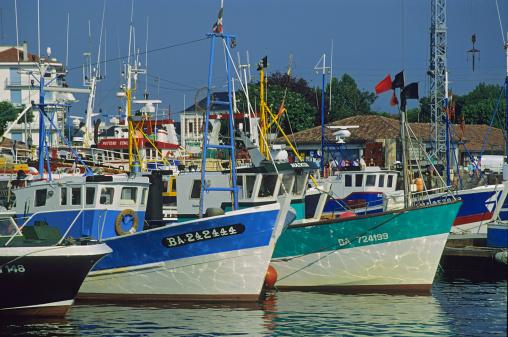 Nouvelle-Aquitaine「Fishing port of Saint Jean de Luz, Pyrenees Atlantiques, France」:スマホ壁紙(16)