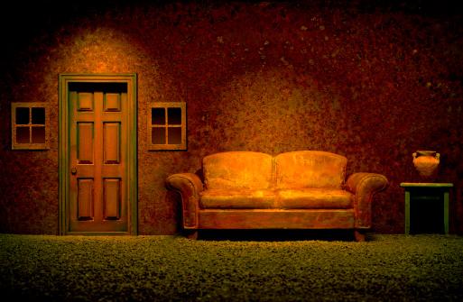Rusty「Surreal room」:スマホ壁紙(4)