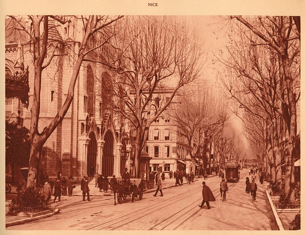 Nice - France「Avenue De La Victoire And Notre-Dame Church」:写真・画像(18)[壁紙.com]