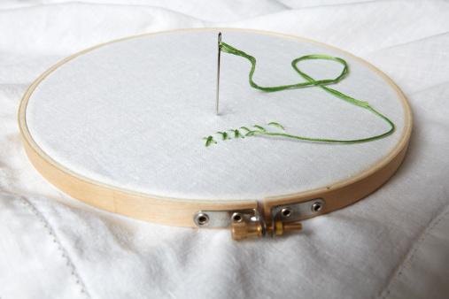 Embroidery「Embroidery hoop」:スマホ壁紙(12)