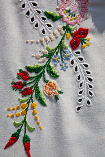 Embroidery「Embroidery, Budapest, Hungary」:スマホ壁紙(15)