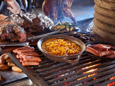 Baked Potato「Taditional asado at a ranch in Patagonia, Chile」:スマホ壁紙(6)