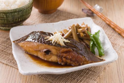 Poached Food「Karei no Nitsuke」:スマホ壁紙(14)