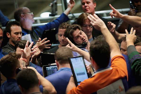 Trader「Markets React To Federal Reserve Announcement On Interest Rates」:写真・画像(5)[壁紙.com]