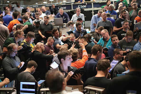 Finance「Markets React To Federal Reserve Announcement On Interest Rates」:写真・画像(18)[壁紙.com]