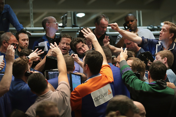 Trader「Markets React To Federal Reserve Announcement On Interest Rates」:写真・画像(9)[壁紙.com]