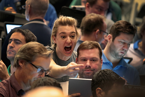 Trader「Traders React To Market Volatility On Floor Of Cboe」:写真・画像(17)[壁紙.com]