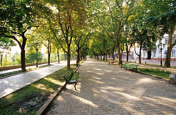 Primorskaya Boulevard, Odessa, Ukraine;:スマホ壁紙(壁紙.com)