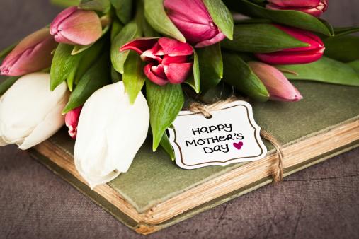 母の日「ヴィンテージの母の日」:スマホ壁紙(10)