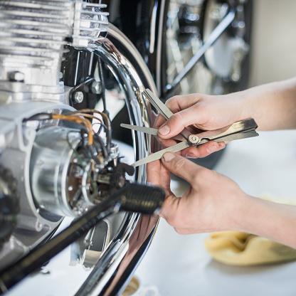 Restoring「Vintage motorcycle workshop」:スマホ壁紙(6)