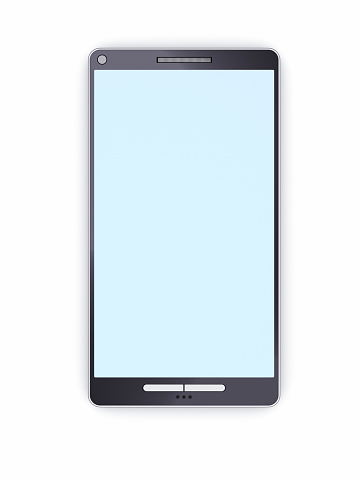 Mobile Phone「Smart phone with empty display」:スマホ壁紙(19)