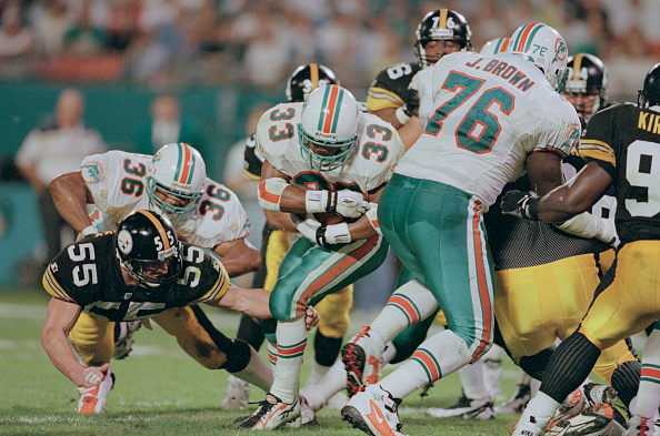 Andy Lyons「Pittsburgh Steelers vs Miami Dolphins」:写真・画像(11)[壁紙.com]