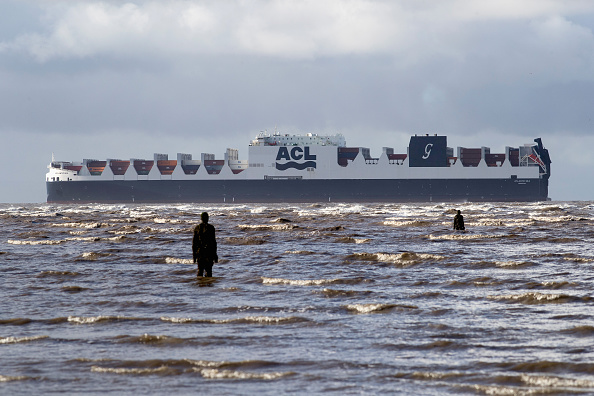 Finance and Economy「The Atlantic Sea Cargo Boat Arrives In Liverpool Ahead Of Its Christening」:写真・画像(8)[壁紙.com]