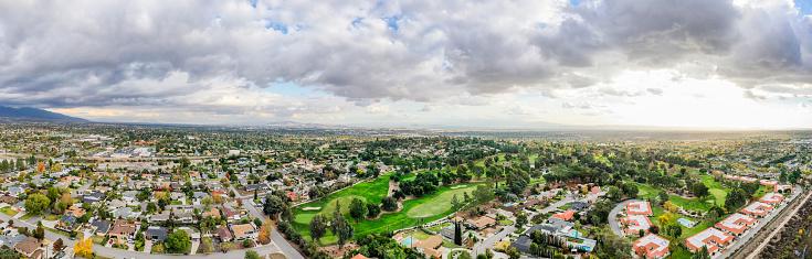 California「Aerial of Rancho Cucamonga, California」:スマホ壁紙(9)
