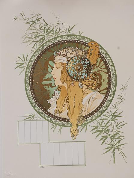 Art Nouveau「Byzantine Heads: Blonde (Calendar)」:写真・画像(8)[壁紙.com]