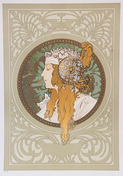 Art Nouveau「Byzantine Heads: Blonde」:写真・画像(5)[壁紙.com]
