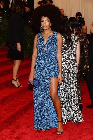 """Afro「""""PUNK: Chaos To Couture"""" Costume Institute Gala」:写真・画像(7)[壁紙.com]"""