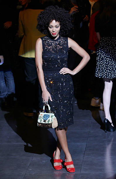 Dolce & Gabbana - Front Row - Milan Fashion Week Menswear Autumn/Winter 2012:ニュース(壁紙.com)
