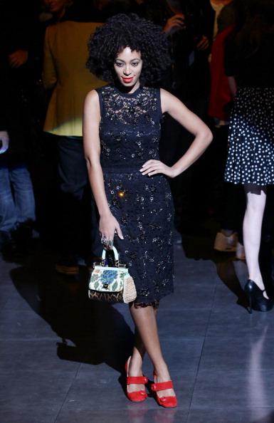 Catwalk - Stage「Dolce & Gabbana - Front Row - Milan Fashion Week Menswear Autumn/Winter 2012」:写真・画像(18)[壁紙.com]