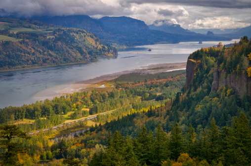 Columbia River Gorge「USA, Columbia River Gorge」:スマホ壁紙(18)
