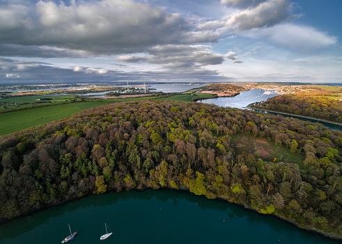 County Cork「River Owenabue, Crosshaven, County Cork, Ireland」:スマホ壁紙(13)