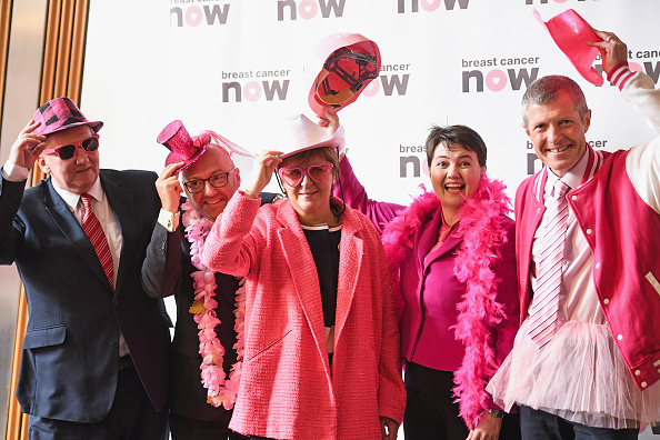 Breast Cancer「Scottish Political Party Leaders Support Breast Cancer」:写真・画像(5)[壁紙.com]