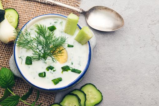 Mint Leaf - Culinary「Cold cucumber soup」:スマホ壁紙(11)