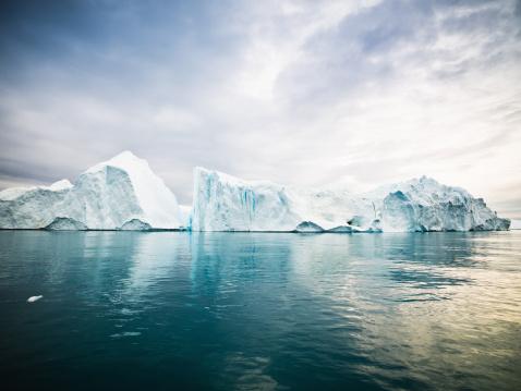 Seascape「Arctic Icebergs Greenland North Pole」:スマホ壁紙(10)