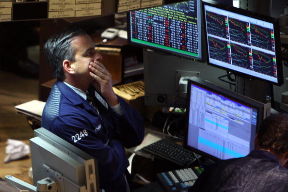 Dow Jones Industrial Average「Financial Markets Drop Ahead Of Bailout Legislation」:写真・画像(19)[壁紙.com]