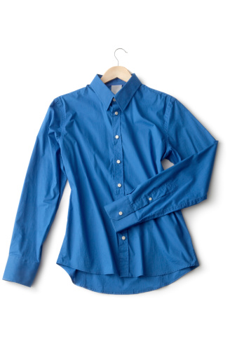 タータンチェック「洋服:ブラウス、ブルー」:スマホ壁紙(10)