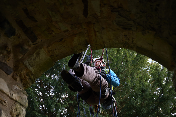 Rope Access Technician「Spring Cleaning Takes Place At English Heritage Properties Around The UK」:写真・画像(11)[壁紙.com]