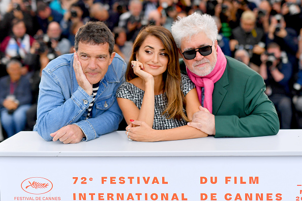 "Cannes International Film Festival「""Pain And Glory (Dolor Y Gloria/ Douleur Et Gloire)"" Photocall - The 72nd Annual Cannes Film Festival」:写真・画像(6)[壁紙.com]"