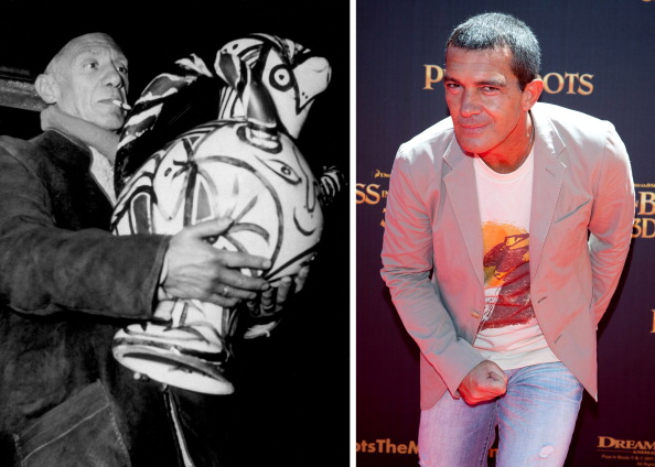 Comparison「FILE PHOTO:  Actor Antonio BanderasTo Play Artist Pablo Picasso In Biopic Role」:写真・画像(19)[壁紙.com]