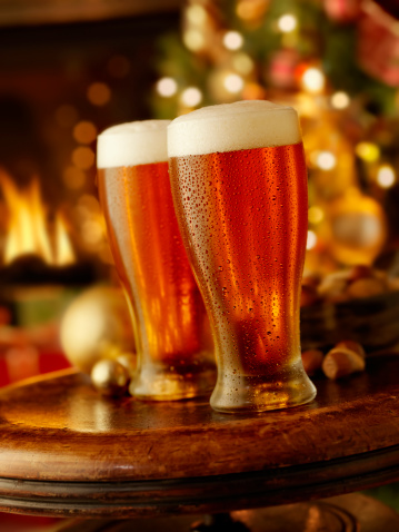 Two Objects「Holiday Beers」:スマホ壁紙(1)
