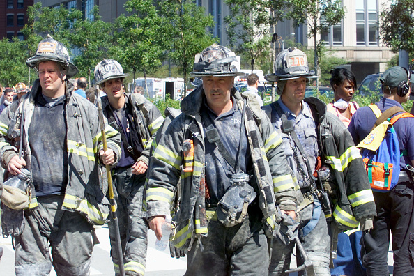 Emergency Services Occupation「New York City Firefighters - WTC Retrospective」:写真・画像(19)[壁紙.com]
