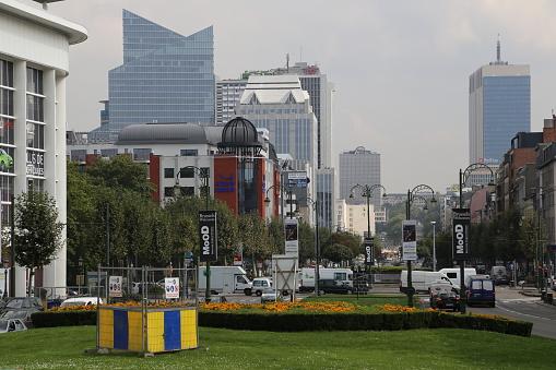 Boulevard「modern buildings at boulevard Baudouin」:スマホ壁紙(19)