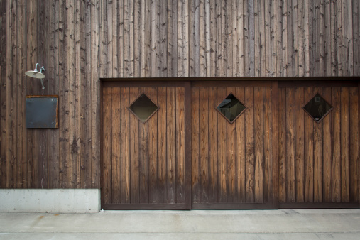 Plank - Timber「A modern building facade」:スマホ壁紙(16)