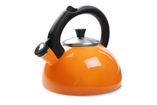 Tea Kettle「Tea Kettle with Clipping Path」:スマホ壁紙(6)