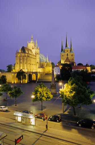 Passenger「Germany, Thuringia, Cathedral of Erfurt」:スマホ壁紙(2)